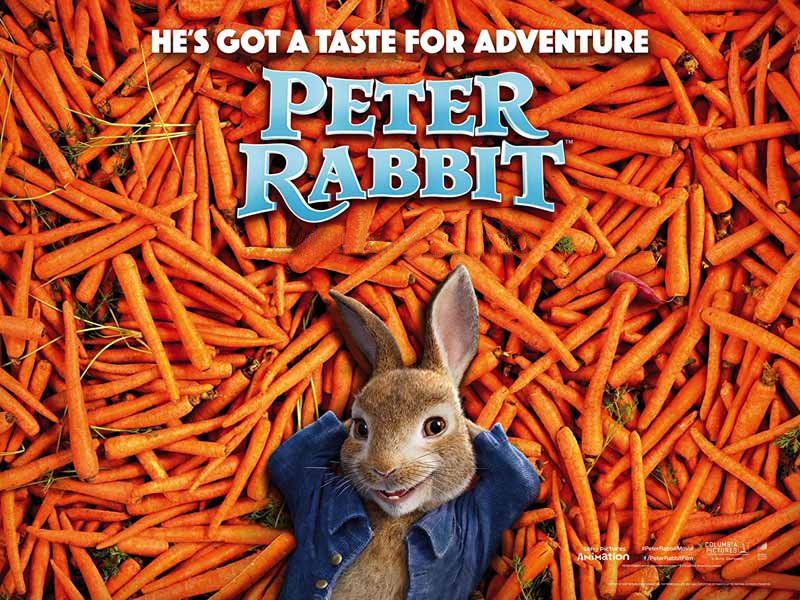 Peter Rabbit movie at Vox Cinemas in Fujairah
