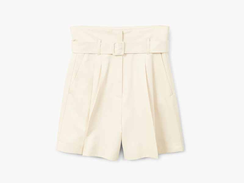Belted shorts by Mango Middle East