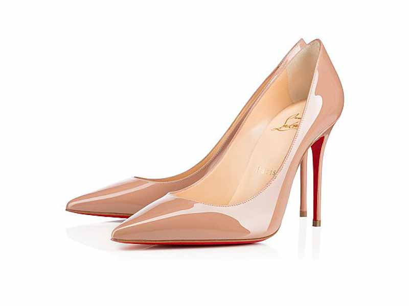 Nude heels from Christian Louboutin Middle East