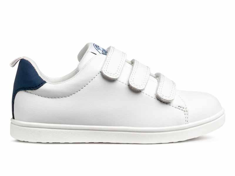 White trainers by H&M Kids available at Mall of the Emirates and City Centres
