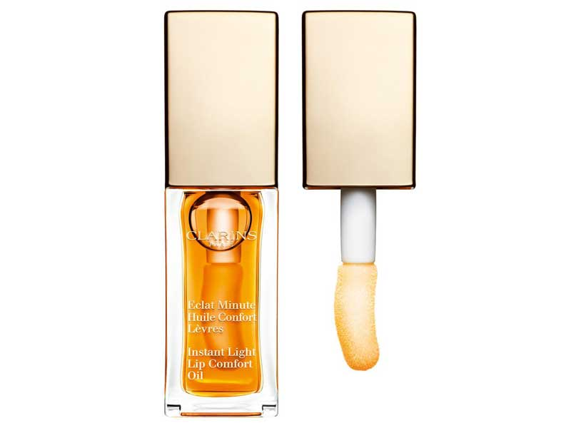 Clarins Instant Light Lip Comfort Oil available at Paris Gallery in City Centres