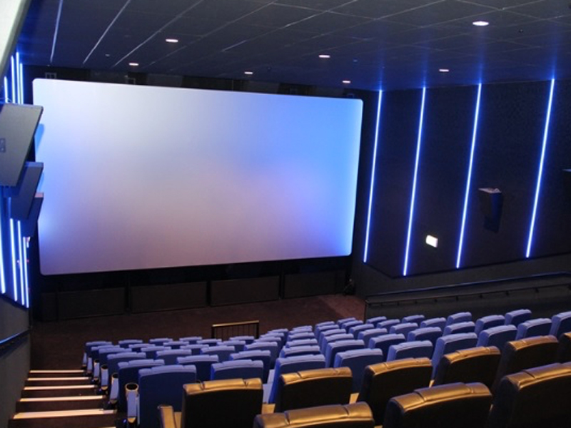 One of the cinema screens at Vox Cinemas Fujairah