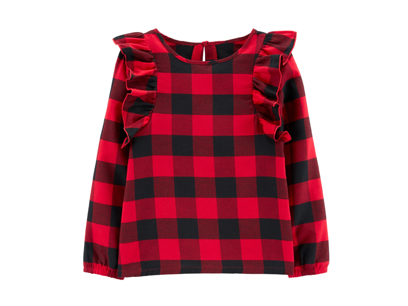 Buffalo check blouse from Carter's at City Centre Fujairah