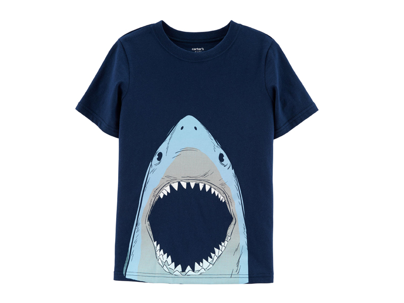 Shark graphic T-shirt from Carter's at City Centre Fujairah