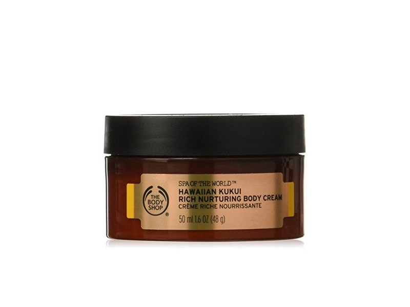 Travel-size Hawaiian Kukui Rich Nurturing Body Cream, The Body Shop, visit City Centre Fujairah