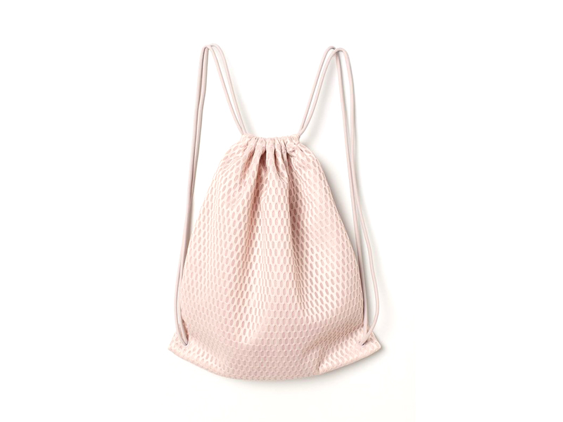 Pink mesh gym bag, H&M, visit City Centre Fujairah